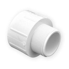 Box of 50 Tigre Pipe Fittings 1//2 x 1//2 inch MIPT Male X Slip Male Adapter