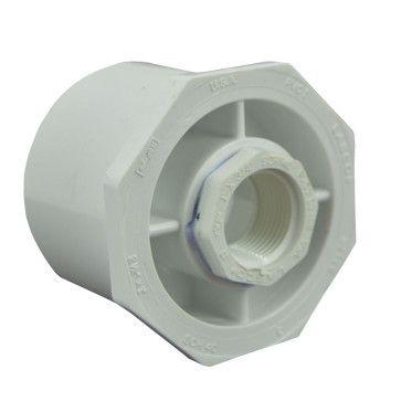 2 1 2 Quot X 3 4 Quot Sch 40 Pvc Reducer Bushing Flush Style