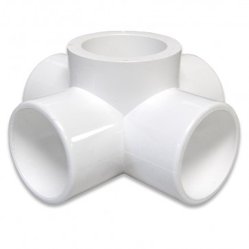 "1-1/4"" PVC 5-WAY Furniture Fitting"
