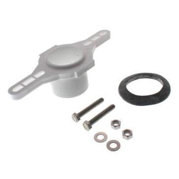 "2"" Sch. 40 PVC Spigot Flange Kit for Urinals (868-9P)"