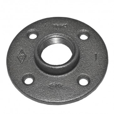 Purchase A 1 Quot Black Malleable Iron Floor Flange Low Prices