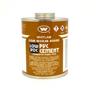 Whitlam Low VOC PVC Clear Regular Bodied Cement