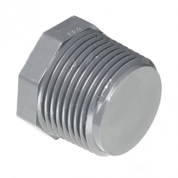 """3/8"""" Schedule 80 CPVC MPT Plug 9850-003"""