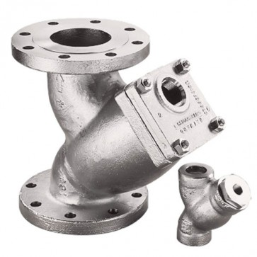 "3/8"" Model 85 Y-Strainer - Carbon Steel, Socket 600# (SY085003ES30A)"