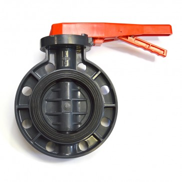 Buy 6 Quot Pvc Butterfly Valve Lever Handle Discount Prices