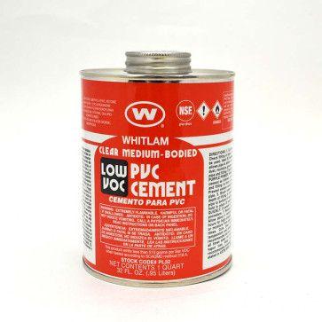 Whitlam Low VOC PVC Medium Bodied Cement