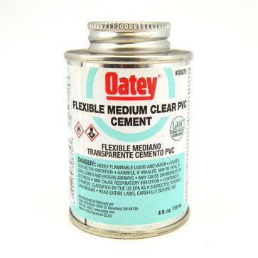 Oatey Flexible PVC Cement - Clear
