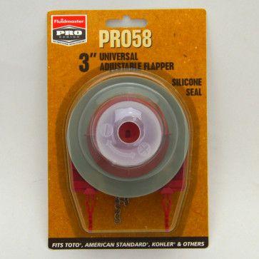 PRO58 Universal 3 Adjustable Toilet Flapper