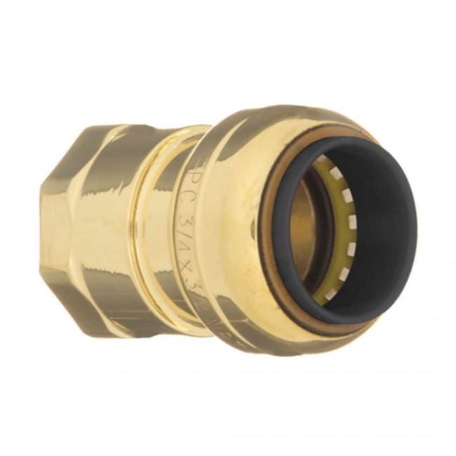 Quot lead free brass female adapter