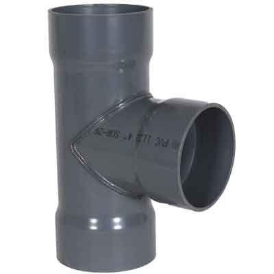 PVC DUCT Tee Thumb