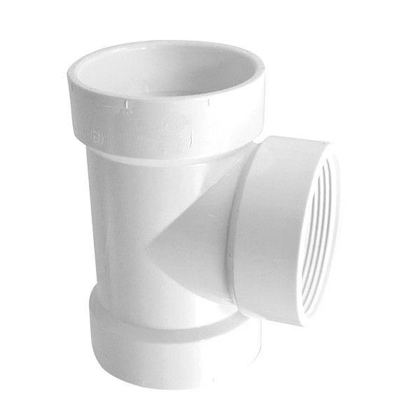 8 DWV PVC Test Tee 3701 080TEST