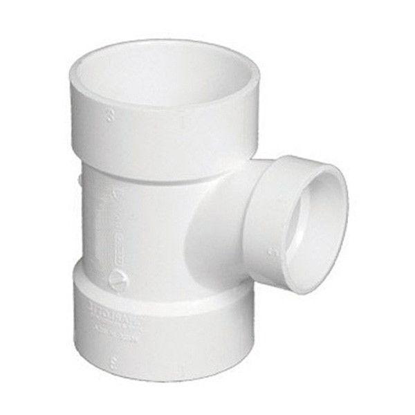 8 X 4 DWV PVC Sanitary Reducing Tee 3790 582