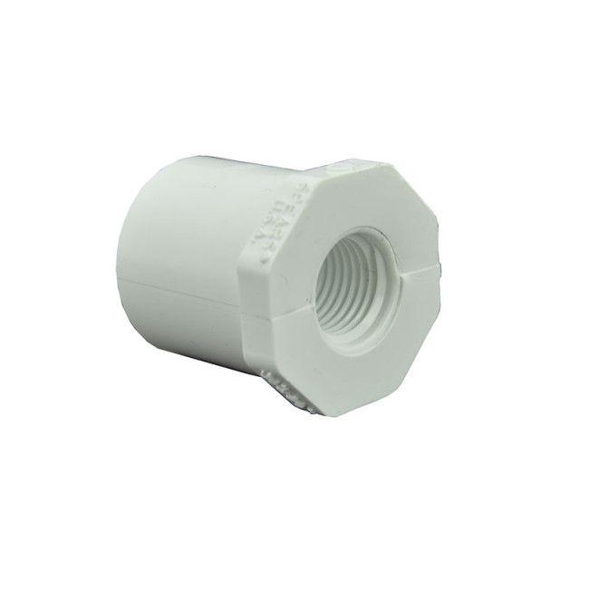 1 Spigot x 1//2 FNPT CPVC Reducer Bushing