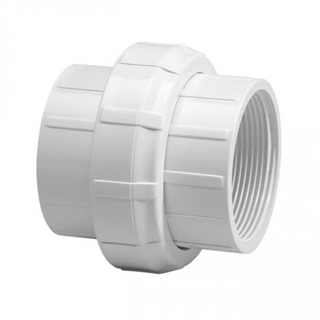Quot sch pvc union fipt w buna o ring seal