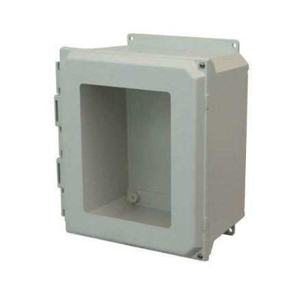 16x14x8 Nema 4x Fiberglass Enclosure Amu1648hwf Buy Online