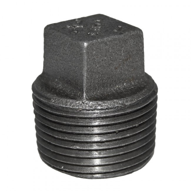 Buy this quot black malleable iron plug discount prices