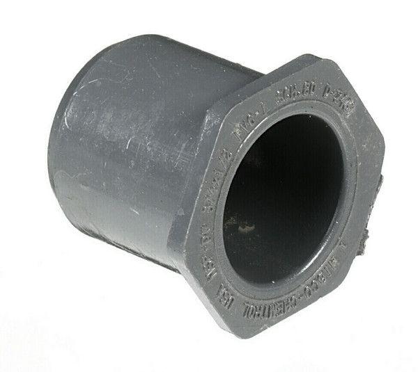 "PVC Spears USA 1""1//2 SPx 3//4"" FPT Reducer Bushing Sch 80 Reinforced"