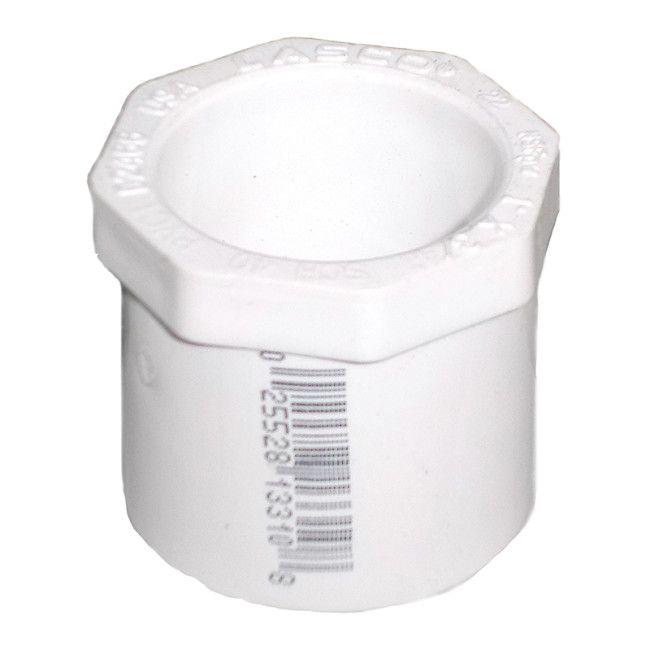 Quot sch pvc reducer bushing flush style