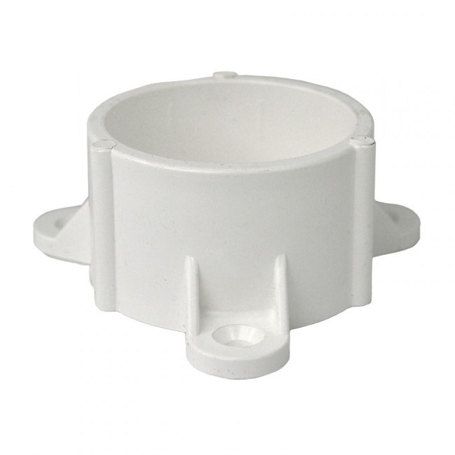 Quot pvc table cap with screw tabs furniture grade