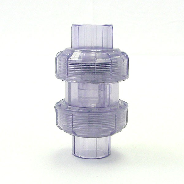 Clear Check Valve Thumb