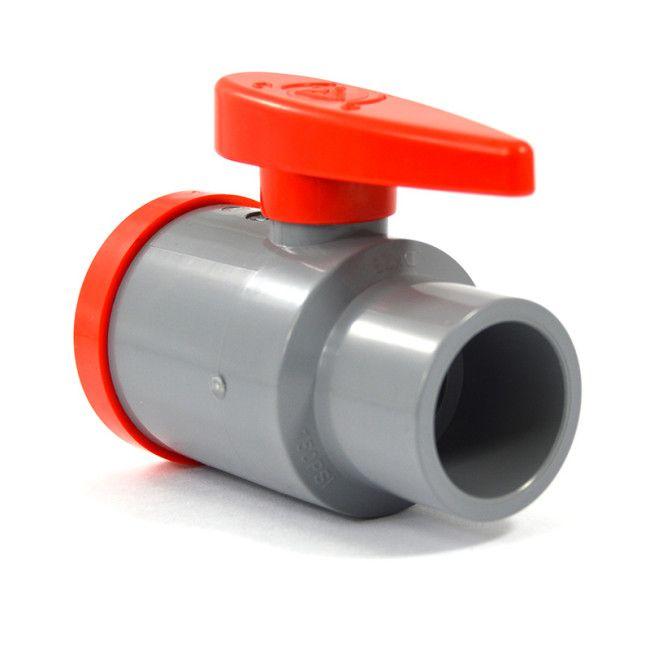 Quot sch cpvc compact ball valve socket