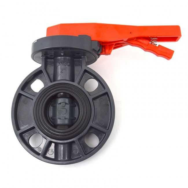 Buy 2 Quot Pvc Butterfly Valve Lever Handle Best Prices
