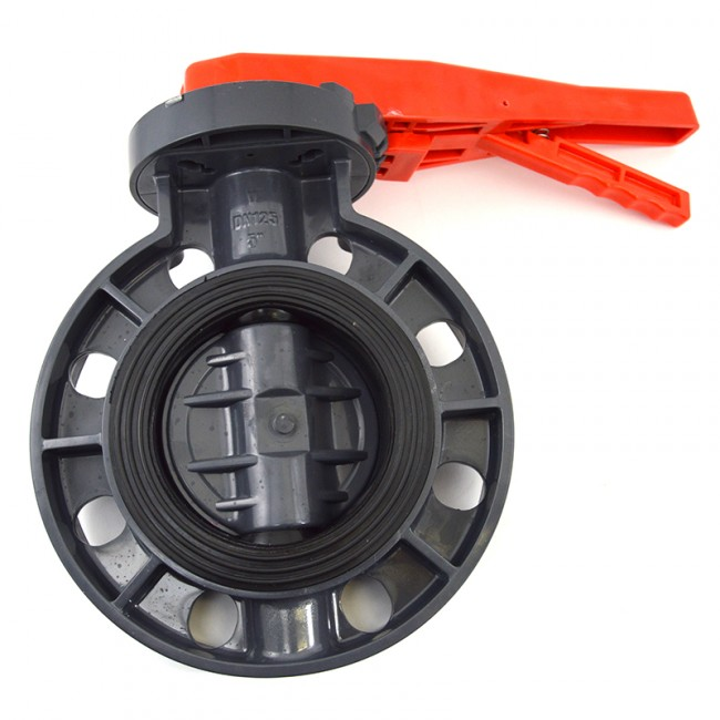 Buy 5 Quot Pvc Butterfly Valve Lever Handle Discount Prices