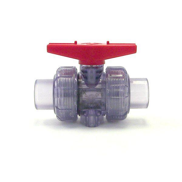 Clear ball valve Thumb