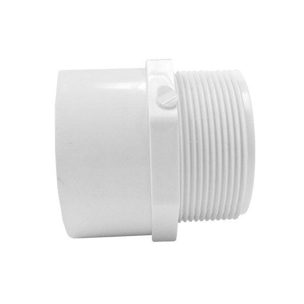 "8-4/"" Inch Lasco PVC Pipe Male Adapter Fitting MIPT x Slip On Schedule 40 D2466"