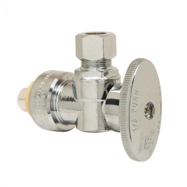 Buy Angled Stop Valve 1 2 Quot Nom Push In X 3 8 Quot Od Comp Out
