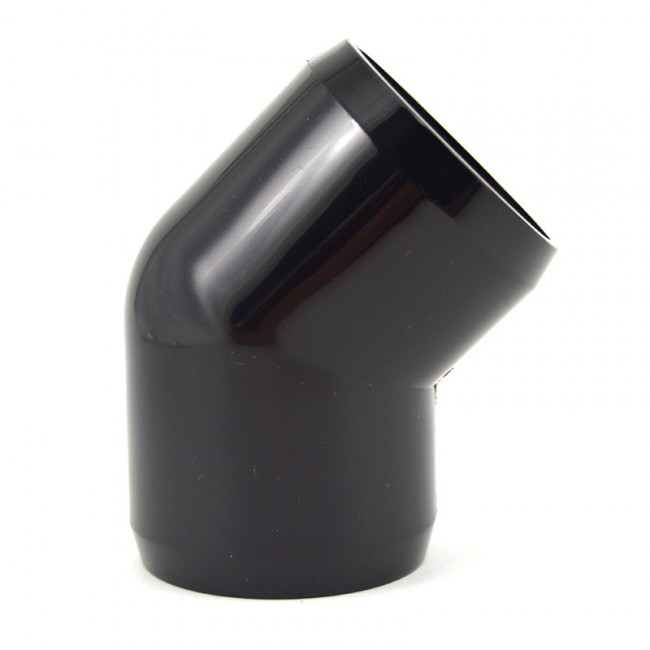 Quot black pvc degree furniture elbow buy here