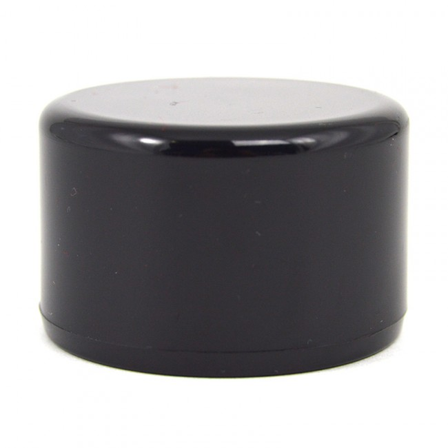 1 1 2 Quot Black Pvc Furniture Grade End Cap Buy Today