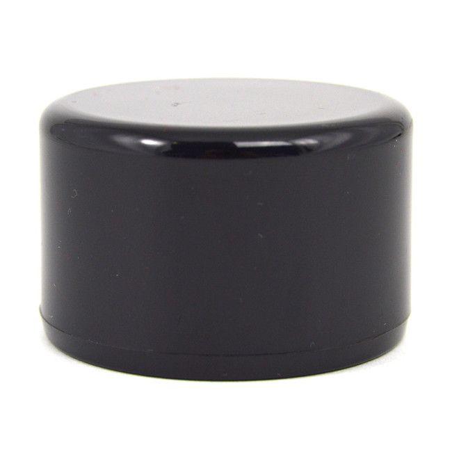 1 1 2 Quot Black Pvc Furniture Grade End Cap Buy Today