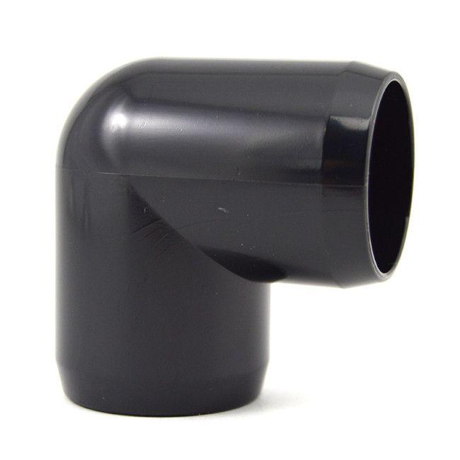 1 Quot Black Pvc 90 Degree Furniture Elbow Online Now