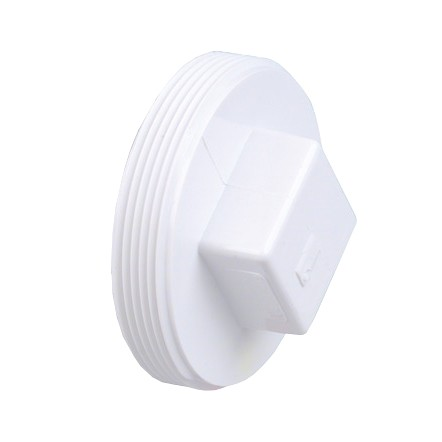6 Quot Dwv Pvc Cleanout Plug Raised Nut D106 060