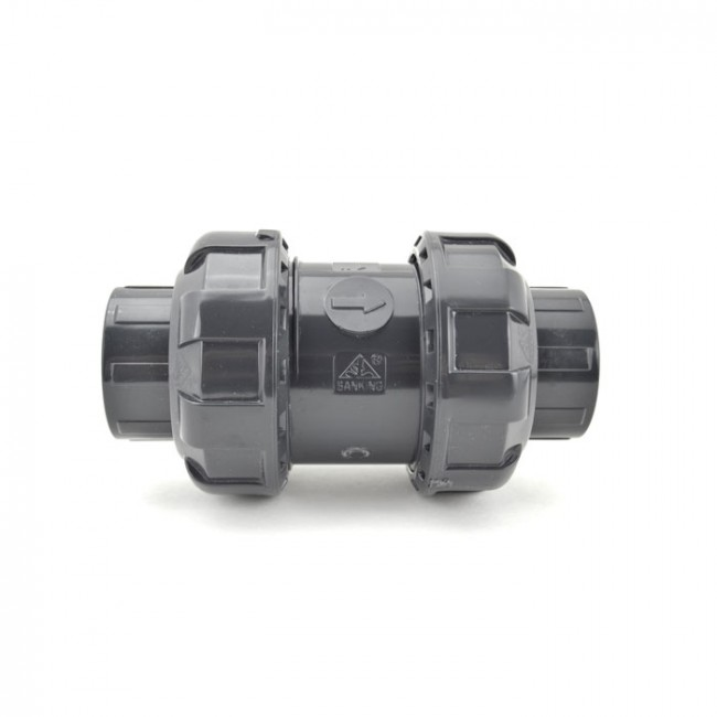 Gray Plastic Ball Check Valves