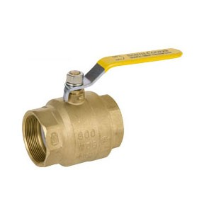 "1"" Watts Lead-Free Brass Ball Valve - Threaded"