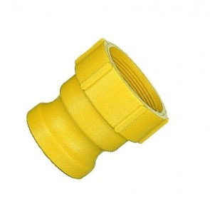 """3/4"""" Nylon Camlock Coupling - Male Adapter x FNPT (075A-N)"""