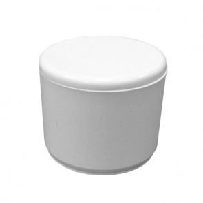 "1/2"" PVC End Cap - Furniture Grade"