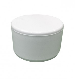 "1-1/4"" PVC End Cap - Furniture Grade"