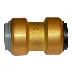 "3/4"" Brass Push Fit Polybutylene Adapter 10155455"