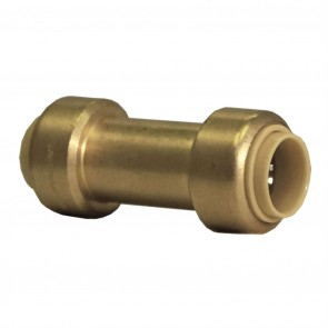 "10177376 3/4"" Brass Push Fit Check Valve"