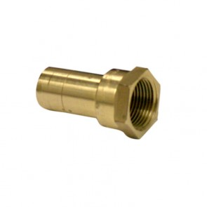 "10177458 1"" Brass Push Fit Female Street Adapter"