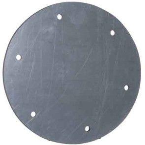 "10"" PVC Duct Blind Flange 1034-BF-10 / 4353-100"