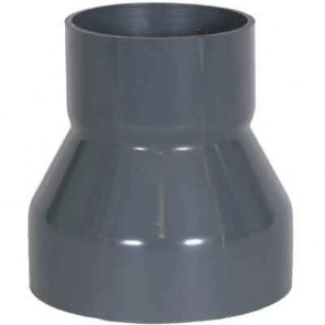 "6"" x 2"" PVC Duct Reducer Coupling 1034-RC-0602"