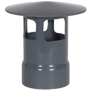 """6"""" PVC Duct Rain Cap A 1034-WCA-06 / 4347-060A"""