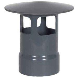 """10"""" PVC Duct Rain Cap A 1034-WCA-10 / 4347-100A"""