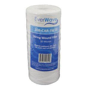 "10"" EverWave String Wound Filter Cartridge - 20 Micron"