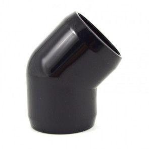 "2"" PVC 45-Degree Elbow Furniture Grade - Black"