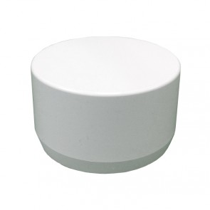 "3"" PVC End Cap - Furniture Grade"